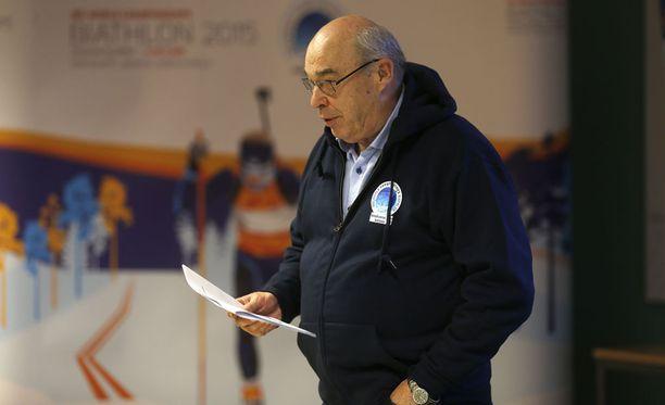 Esa Haapala toimi vuonna 2015 Kontiolahden MM-kisojen johtajana.