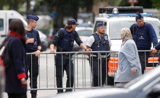 Belgian poliisi toteutti suuroperaation.