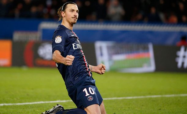 Zlatan Ibrahimovic teki kaksi maalia Nantesia vastaan.