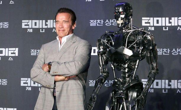 Schwarzeneggerin tähdittämä Terminator: Genisys on jo elokuvasarjan viides osa.