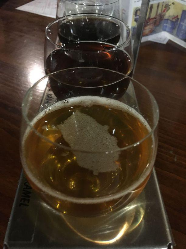 Prahassa kannattaa maistella erityyppisiä oluita.