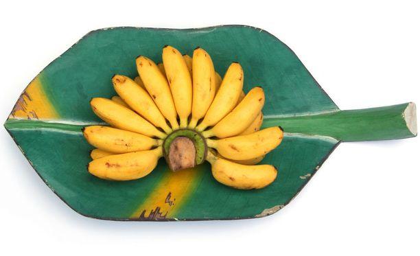 Uuden banaanilajikkeen kuoretkin voi syödä.