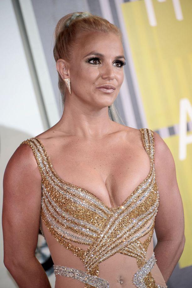 Tällaisena Britney poseerasi vuonna 2015.