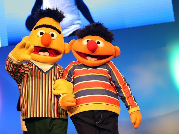 Tekijöiden mukaan Bert ja Ernie ovat edelleen vain ystäviä.