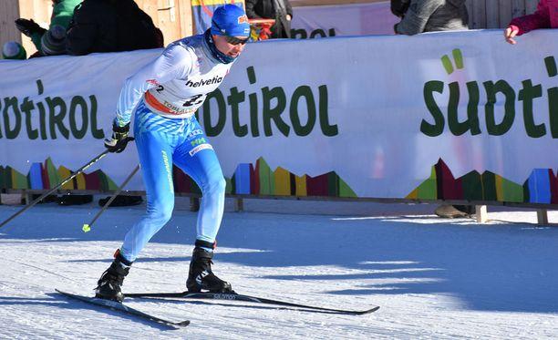 Matti Heikkinen oli neljäs perjantaina Toblachissa.