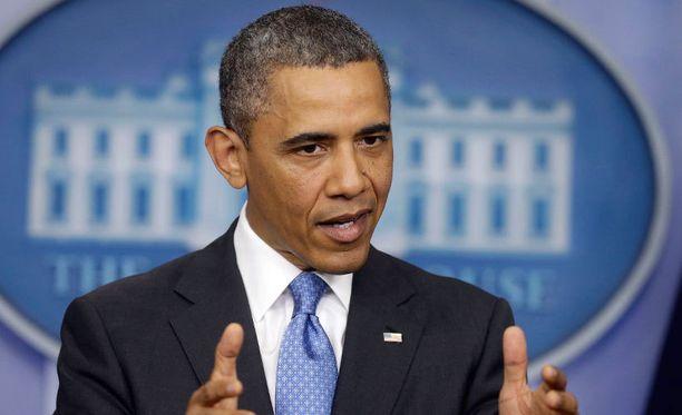 Presidentti Barack Obama on kuvannut kemiallisten aseiden käyttöä viimeiseksi teoksi, joka pakottaisi Yhdysvallat puuttumaan Syyrian konfliktiin.
