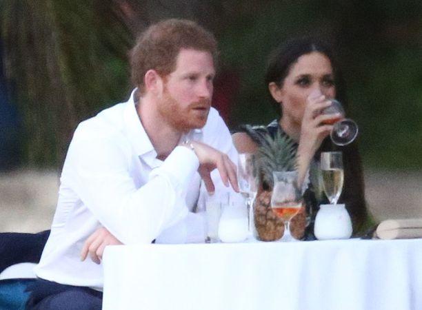 Prinssi Harry ja Meghan Markle Floridassa tänä keväänä.