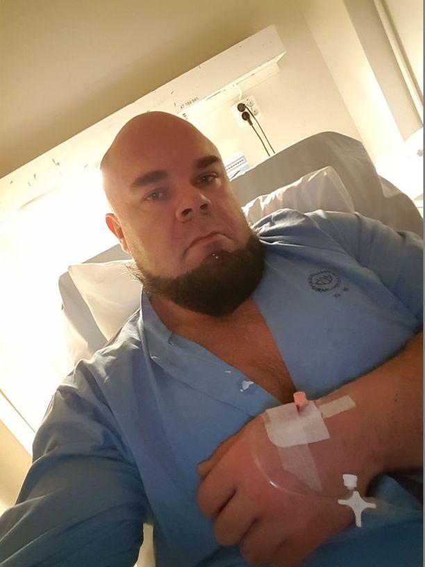 Juha Harju taisteli sairaalassa vuorokausia munuaistensa puolesta.