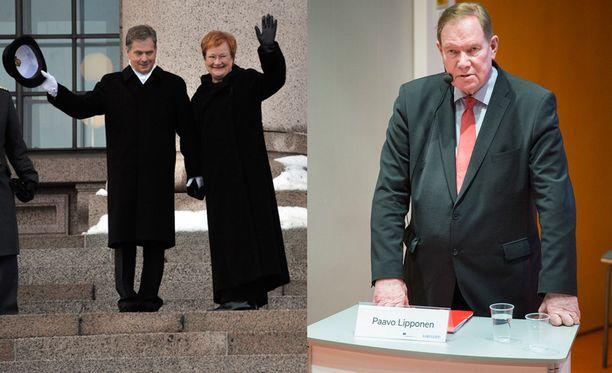 Presidentti Tarja Halosen oli ymmärtäväinen Sauli Niinistön ratkaisulle.