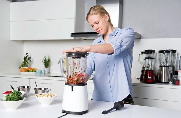 Jungle Juice Barin Noora Fagerström tietää, mitä hyvältä tehosekoittimelta vaaditaan.