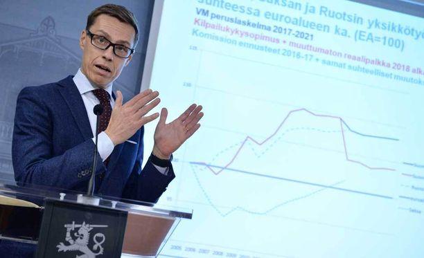 Dokumentissa kuullaan myös Suomen valtiovarainministeri Alexander Stubbia (kok).