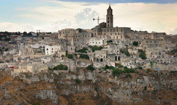Materan kaupunki oli vaarassa raunioitua. Nyt se on valtaosin kunnostettu.