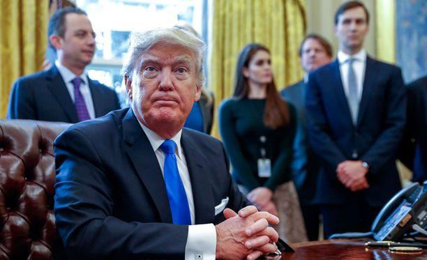 Donald Trump ei aio poistua Valkoisesta talosta tämän presidenttikauden jälkeen.