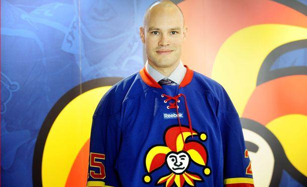 Jarkko Ruudun ja Jokerien kausi alkaa ensi viikon torstaina HIFK:ta vastaan.