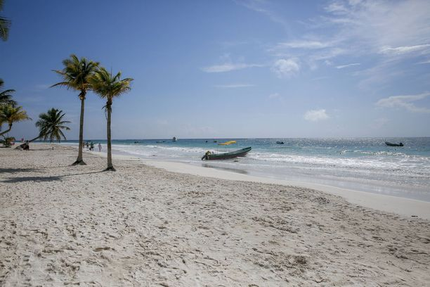 Playa Paraison ihana ranta löytyy Meksikosta.