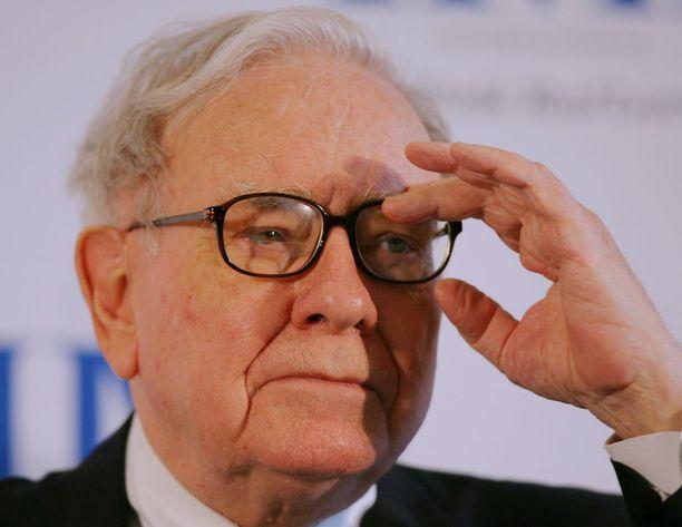 Warren Buffet on kuuluisa sijoittaja.