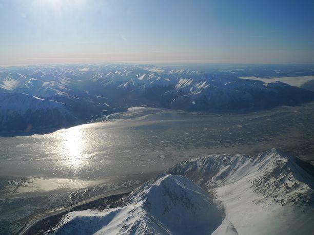 Alaskan Anchoragen lähiseutua. (Kuvituskuva)