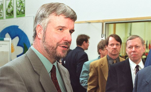 Kankaanniemi kristillisten puoluekokouksessa toukokuussa 2006.