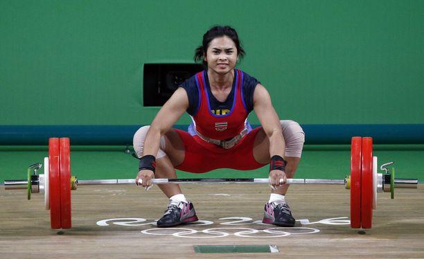 Siripuch Gulnoi kertoi thaimaalaisesta dopingkulttuurista painonnostopiireissä.