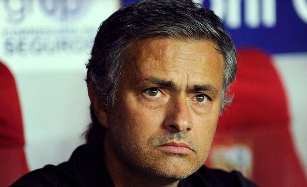 Jose Mourinhon mukaan hänellä ei ole joukkuetta.