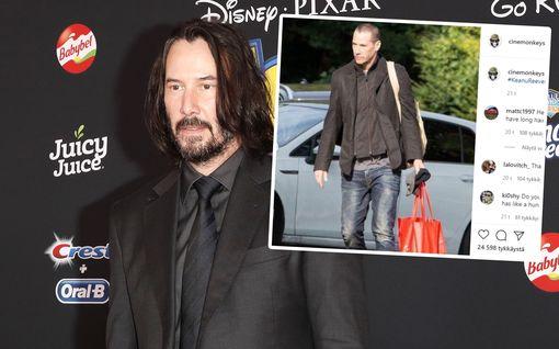 Tunnistaisitko Keanu Reevesin tuoreista kuvista? Pitkät kutrit ovat poissa ja tilalla siili