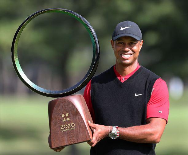 Tiger Woods ja PGA-voitto numero 82.