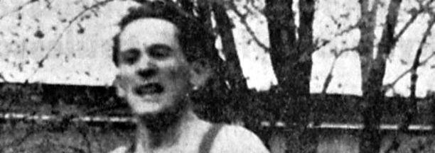 Paavo Kotila juoksemassa vuonna 1957.