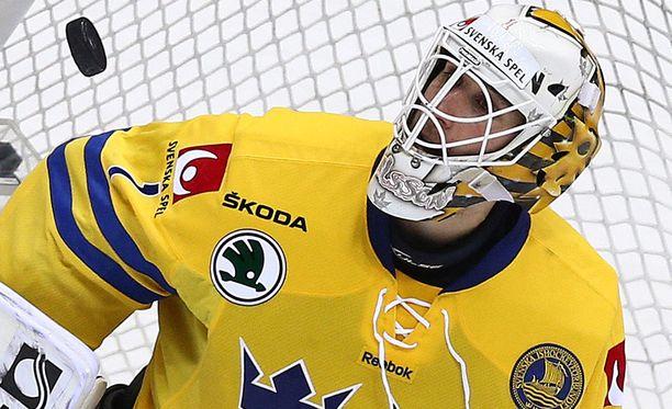Henrik Karlsson on pelannut Ruotsin maajoukkueessa 11 ottelua.