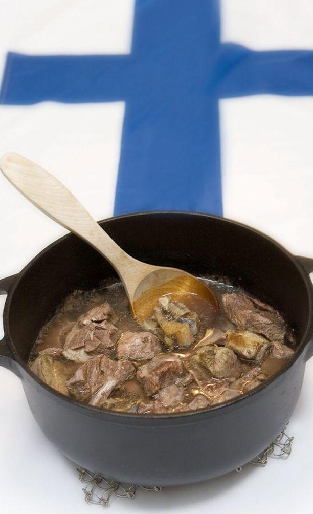 Karjalanpaisti maistuu suomalaisille.