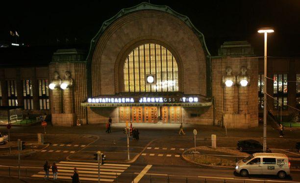 Epäilty rikos tapahtui Helsingin päärautatieaseman läheisyydessä marraskuussa.