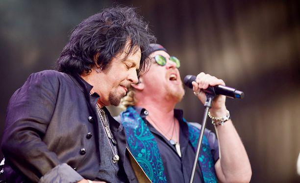 Toto esiintyi viime kesänä Ahvenanmaalla.