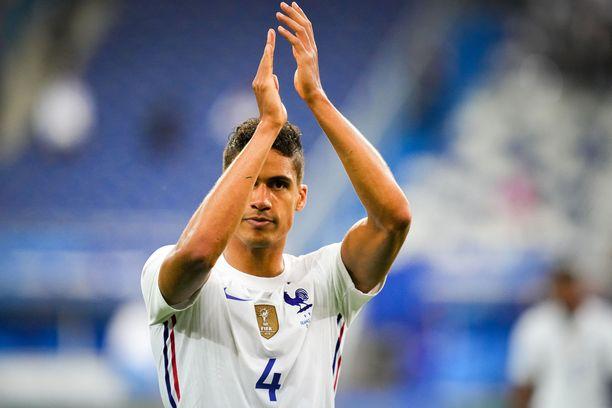 Ranskalainen Varane on pian Manchester Unitedin pelaaja.