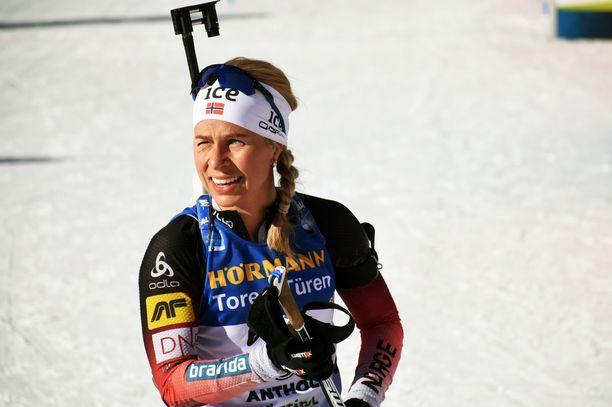 Tiril Eckhoff sai tiistain kisan jälkeen vastata dopingväitteisiin.