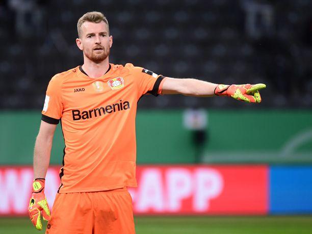 Lukas Hradeckyn Leverkusen saa vastaansa Interin Milanosta.