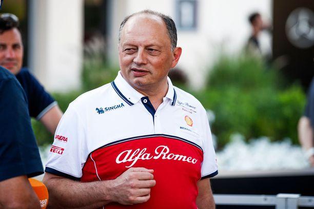 Fred Vasseur on tyytyväinen Kimi Räikkösen työjälkeen.