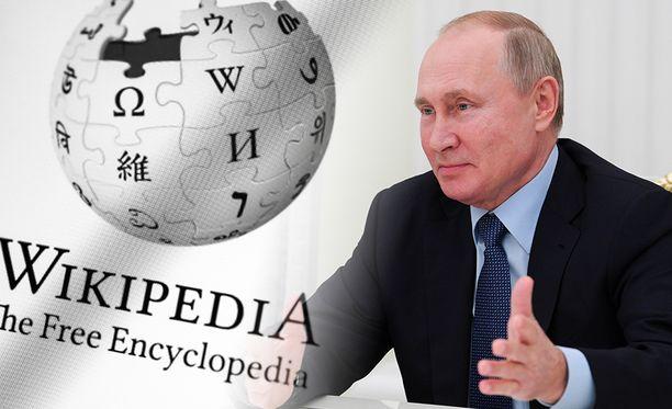 Putin haluaa korvata Wikipedian.