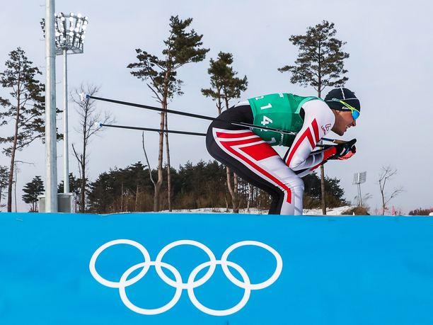 Max Hauken hiihdot on hiihdetty.