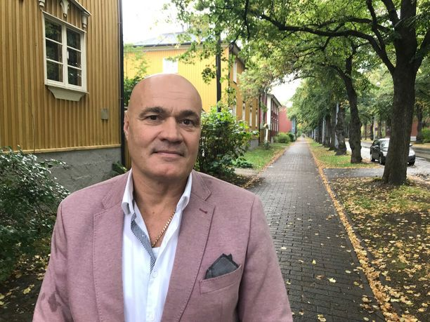 Käpylän pyöveli Jukka Järvinen on pysynyt uskollisen kaupunginosalleen jo yli 20 vuotta.