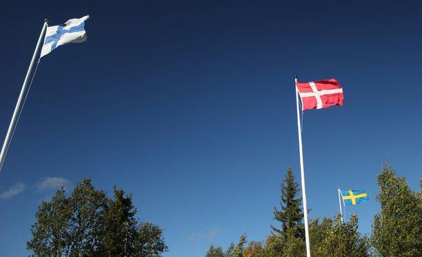 Suomen läntiset naapurimaat pärjäsivät vertailussa paremmin.