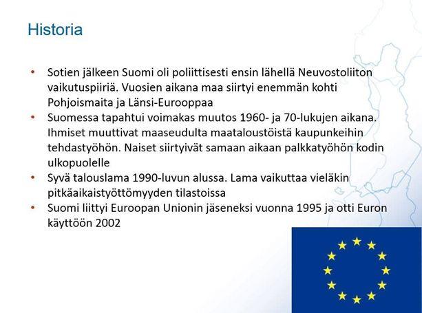 Myös Suomen historia käydään turvapaikanhakijoiden kanssa lävitse.