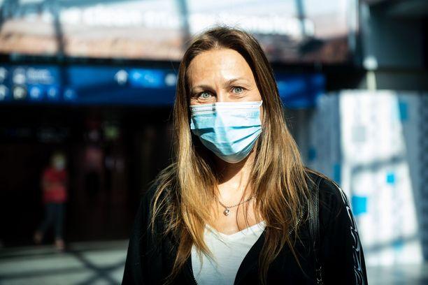 Kristiina Noor lensi Tallinnasta Helsinkiin.