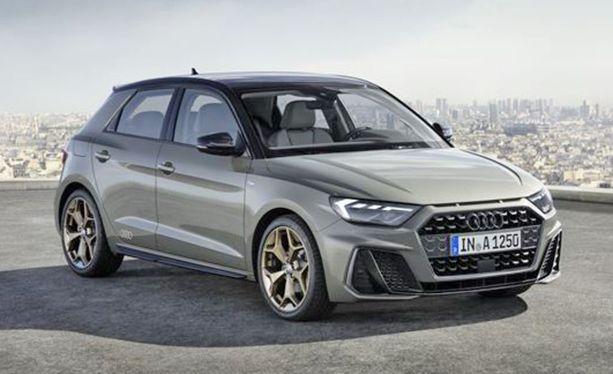 Uusi A1 Sportback on saanut aiempaa matalamman näköisen ja dynaamisemman keulan ilmeen.