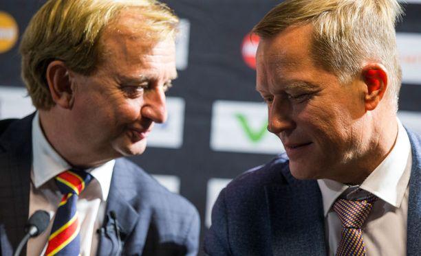 Pääomistaja Hjallis Harkimo neuvottelee Jokerien tulevien kausien rahoituksesta. Toimitusjohtaja Jukka Kohonen kertoi Ilta-Sanomille, ettei neuvotteluissa ole vielä päästy yhteisymmärrykseen.