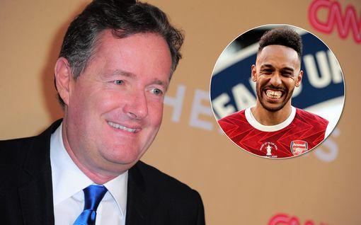 """Piers Morganilta tunteikas vetoomus Twitterissä: """"Rakas Pierre-Emerick, älä lähde"""""""