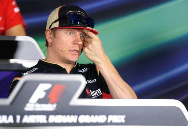 Kimi Räikkönen leikataan tänään Itävallan Salzburgissa.