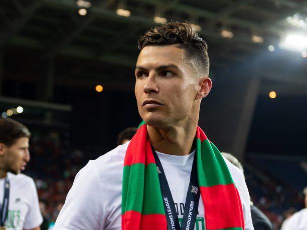 Cristiano Ronaldon käytös ei miellyttänyt Veronika Rickseniä.