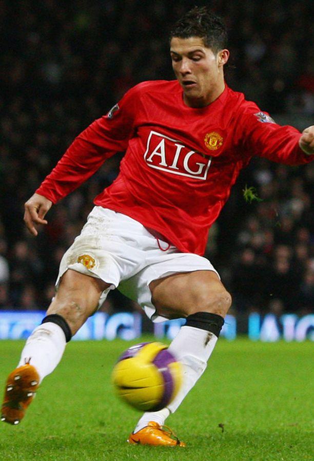 Cristiano Ronaldo on yksi maailman parhaista jalkapalloilijoista.