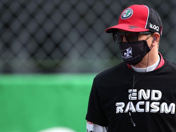 Kimi Räikkönen oli Monzassa 13:s.
