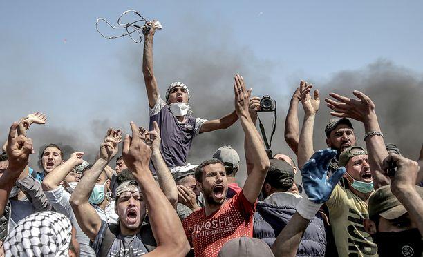 Maanantai oli verisin päivä Gazassa sitten vuoden 2014 sodan.