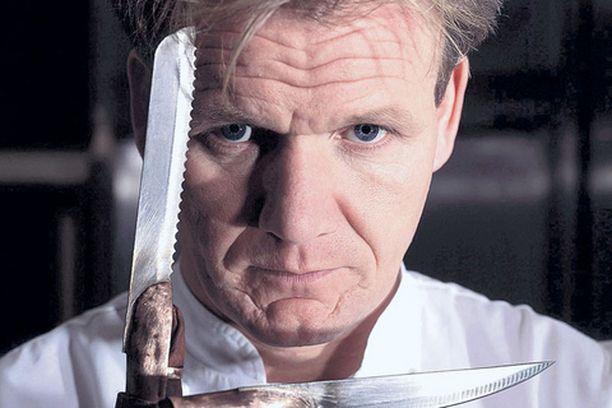 Gordon Ramsayn veitsi heiluu taas.